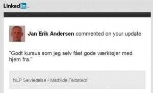 Jan Erik om Selvledelse